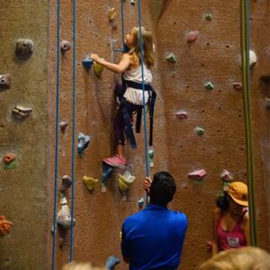 First Climb Wall at BSU