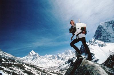 Tom Whittaker Climbing Everest