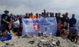Dr Meyers Borah Climb